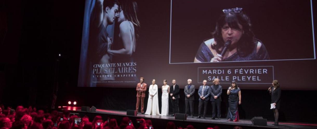 Avant première mondiale pour le film : Cinquante nuances plus claires - Mardi 6 février 2018 Salle PLEYEL