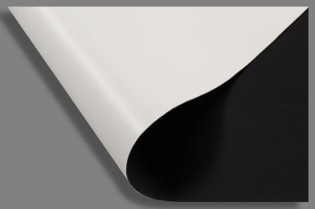 Toile occultante noir et blanc