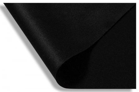 Toile opaque noir
