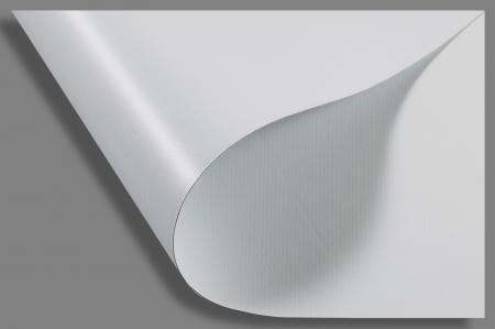 Bâche opaque blanc